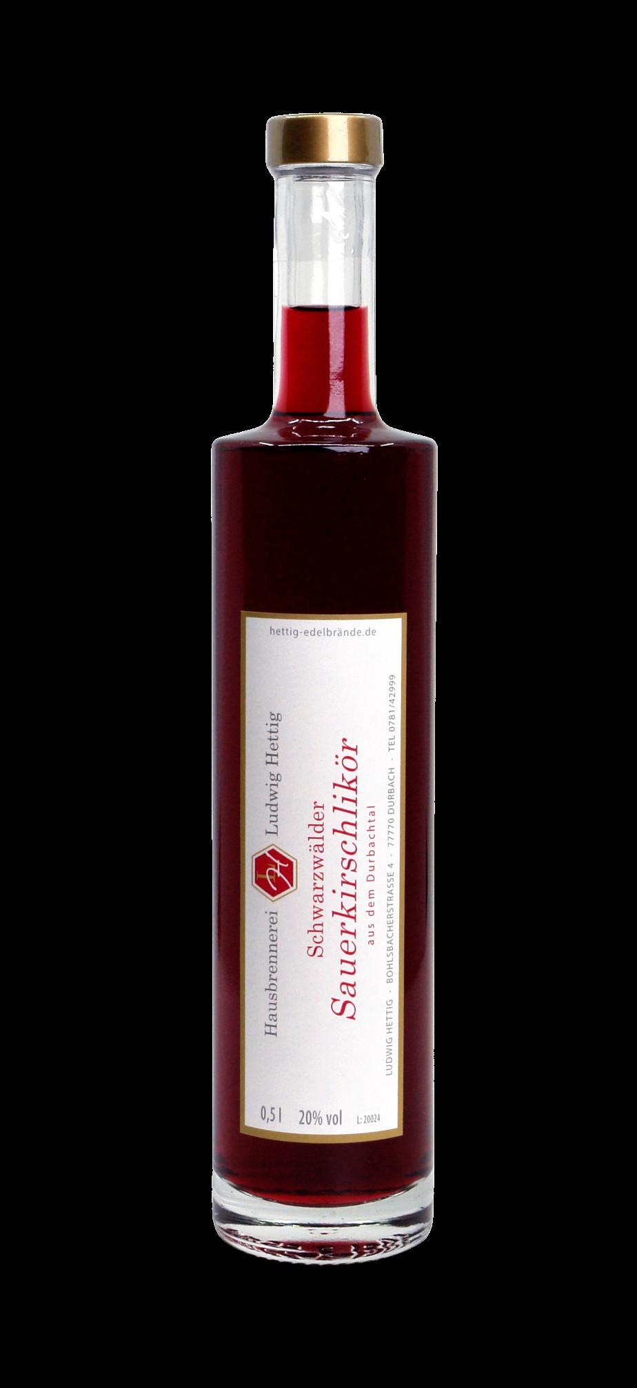 Sauerkirsch-Likör